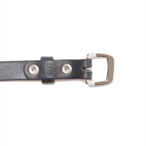 他の写真2: ANTIDOTE BUYERS CLUB/Narrow Harness Leather Belt(ブラック)[ナローレザーベルト]