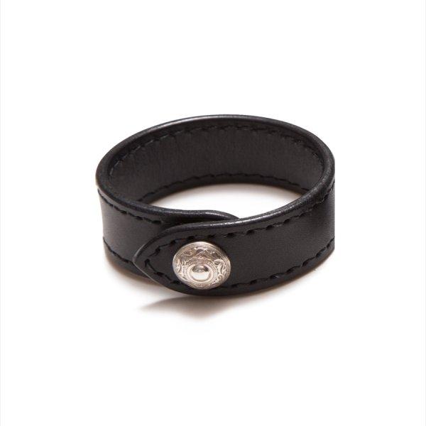 画像3: ANTIDOTE BUYERS CLUB/Leather Wristband(ブラック)[レザーリストバンド]