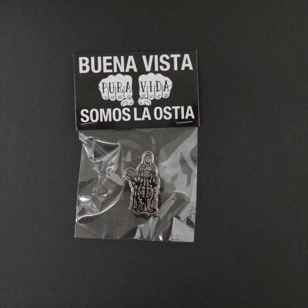 画像1: BUENA VISTA/Pin Badge(Maria)(シルバー)[ピンバッジ-18春夏]