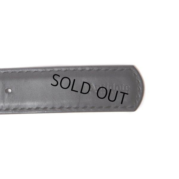 画像4: ANTIDOTE BUYERS CLUB/Garrison Leather Belt(ブラック)[ギャリソンレザーベルト]