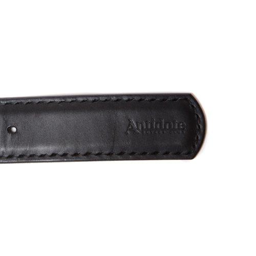他の写真3: ANTIDOTE BUYERS CLUB/Garrison Leather Belt(ブラック)[ギャリソンレザーベルト]