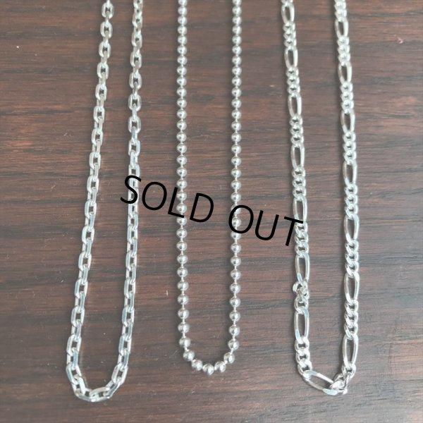 画像5: ANTIDOTE BUYERS CLUB/Oval Link Chain(50cm)(シルバー)[オーバルリンクチェーンネックレス]