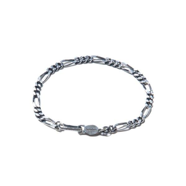 画像3: ANTIDOTE BUYERS CLUB/Figaro Chain Bracelet(シルバー)[フィガロチェーンブレスレット]