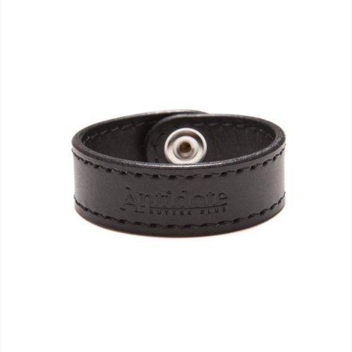 他の写真2: ANTIDOTE BUYERS CLUB/Leather Wristband(ブラック)[レザーリストバンド]