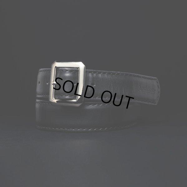 画像1: ANTIDOTE BUYERS CLUB/Garrison Leather Belt(ブラック)[ギャリソンレザーベルト]