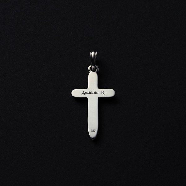 画像2: ANTIDOTE BUYERS CLUB/Engraved Cross Pendant(シルバー)[クロスペンダントトップ]