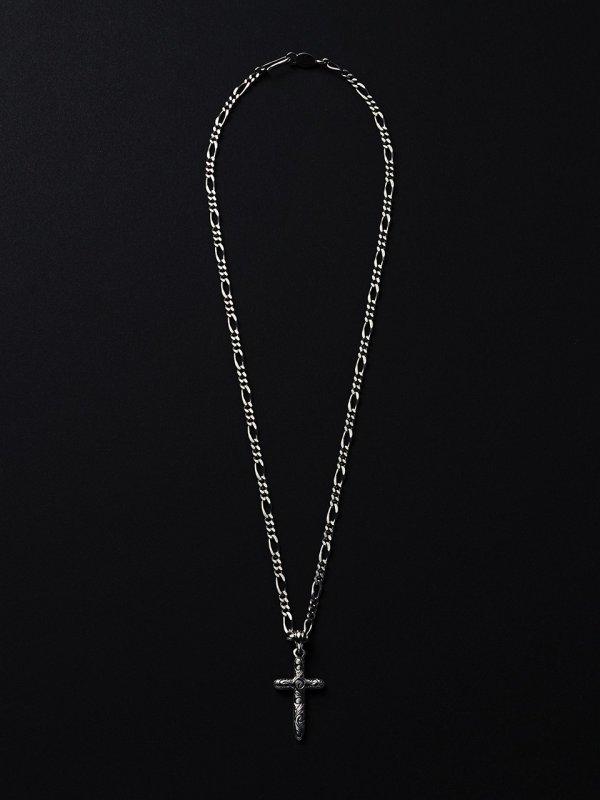 画像3: ANTIDOTE BUYERS CLUB/Engraved Cross Pendant(シルバー)[クロスペンダントトップ]