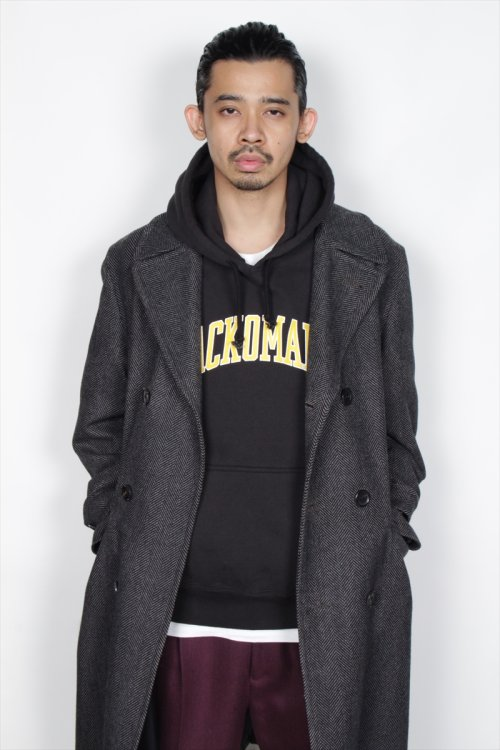 他の写真2: WACKO MARIA/WASHED HEAVY WEIGHT PULLOVER HOODED SWEAT SHIRT(TYPE-6)(ブラック)[プルオーバーパーカー-19秋冬]