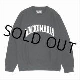 WACKO MARIA/HEAVY WEIGHT CREW NECK SWEAT SHIRT(TYPE-4)(ブラック)[クルーネックスウェット-19秋冬]