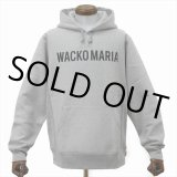 WACKO MARIA/HEAVY WEIGHT PULLOVER HOODED SWEAT SHIRT(TYPE-2)(グレー)[プルオーバーパーカー-20春夏]