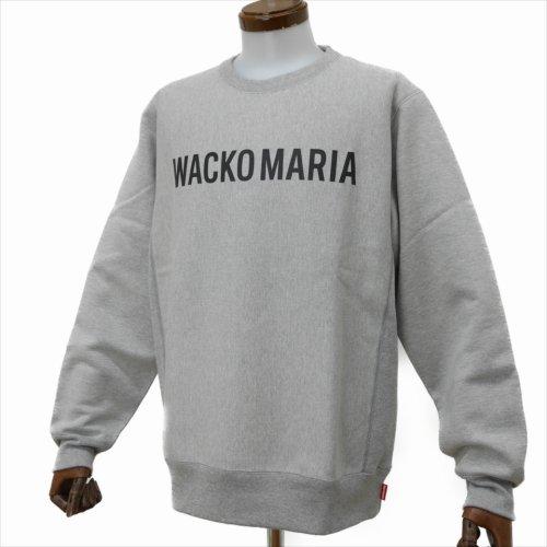 他の写真2: WACKO MARIA/HEAVY WEIGHT CREW NECK SWEAT SHIRT(TYPE-2)(グレー)[クルーネックスウェット-20春夏]