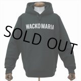 WACKO MARIA/HEAVY WEIGHT PULLOVER HOODED SWEAT SHIRT(TYPE-2)(ブラック)[プルオーバーパーカー-21春夏]