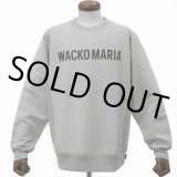 WACKO MARIA/HEAVY WEIGHT CREW NECK SWEAT SHIRT(TYPE-2)(グレー)[クルーネックスウェット-20春夏]