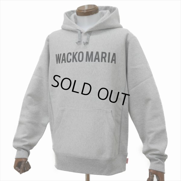 画像3: WACKO MARIA/HEAVY WEIGHT PULLOVER HOODED SWEAT SHIRT(TYPE-2)(グレー)[プルオーバーパーカー-20春夏]