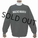 WACKO MARIA/HEAVY WEIGHT CREW NECK SWEAT SHIRT(TYPE-2)(ブラック)[クルーネックスウェット-20春夏]