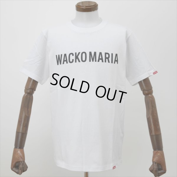 画像1: WACKO MARIA/HEAVY WEIGHT CREW NECK T-SHIRT(TYPE-2)(ホワイト)[プリントT-20春夏]