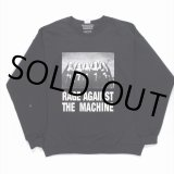 WACKO MARIA/RAGE AGAINST THE MACHINE / CREW NECK SWEAT SHIRT(TYPE-4)(ブラック)[クルーネックスウェット-20春夏]