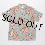 WACKO MARIA/TIM LEHI / S/S HAWAIIAN SHIRT(TYPE-2)(グレー)[アロハシャツ-20春夏]