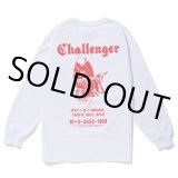 CHALLENGER/L/S GOLD FISH TEE(ホワイト)[プリント長袖T-20春夏]
