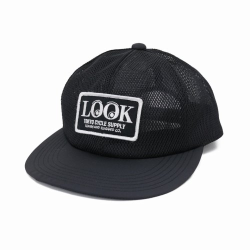 他の写真1: ROUGH AND RUGGED/DESIGN CAP / LOOK(ブラック) 【30%OFF】[オールメッシュキャップ-20春夏]