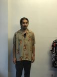 画像2: WACKO MARIA/TIM LEHI / S/S HAWAIIAN SHIRT(TYPE-4)(ベージュ)[アロハシャツ-20春夏] (2)