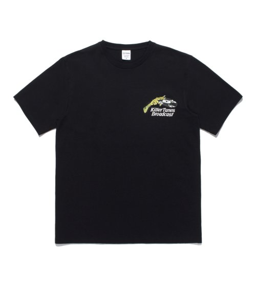 他の写真1: WACKO MARIA/TIM LEHI / WASHED HEAVY WEIGHT CREW NECK COLOR T-SHIRT(TYPE-1)(ブラック)[プリントT-20秋冬]