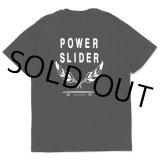 CHALLENGER/POWER SLIDER TEE(ブラック)[プリントT-21春夏]
