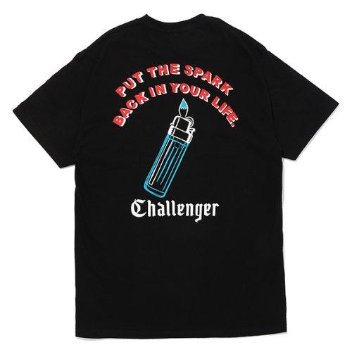 他の写真2: CHALLENGER/PUT THE SPARK TEE(ブラック)[プリントT-21春夏]