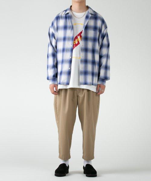 他の写真1: COOTIE/T/C 2 Tuck Easy Pants(ベージュ)[T/C 2タックイージーパンツ-21春夏]