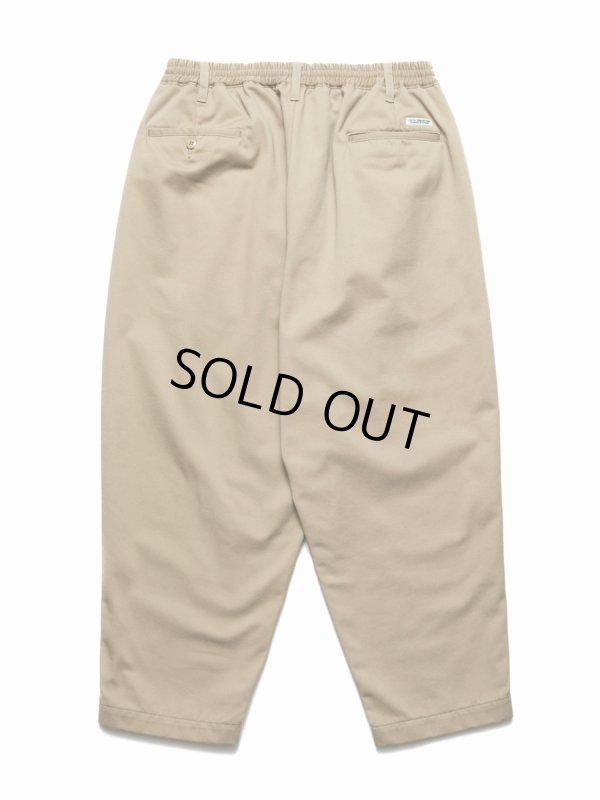 画像2: COOTIE/T/C 2 Tuck Easy Pants(ベージュ)[T/C 2タックイージーパンツ-21春夏]