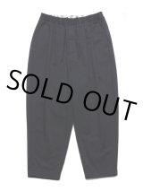 COOTIE/T/C 2 Tuck Easy Pants(ブラック)[T/C 2タックイージーパンツ-21春夏]