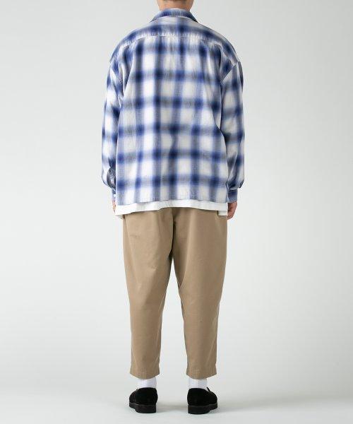 他の写真2: COOTIE/T/C 2 Tuck Easy Pants(ベージュ)[T/C 2タックイージーパンツ-21春夏]