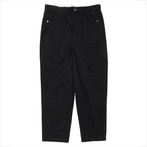 他の写真1: PORKCHOP/LOOSE FIT CHINO PANTS(ブラック)[ルーズフィットチノパン-21春夏]