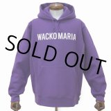 WACKO MARIA/HEAVY WEIGHT PULLOVER HOODED SWEAT SHIRT(TYPE-2)(パープル)[プルオーバーパーカー-21春夏]