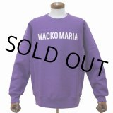 WACKO MARIA/HEAVY WEIGHT CREW NECK SWEAT SHIRT(TYPE-2)(パープル)[クルーネックスウェット-21春夏]