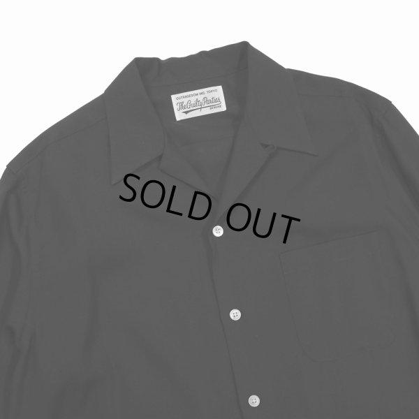 画像3: WACKO MARIA/50'S SHIRT S/S(TYPE-1)(ブラック)[50'Sシャツ-21春夏]