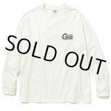CALEE/Drop shoulder L/S t-shirt(ホワイト)[ドロップショルダー長袖T-21春夏]