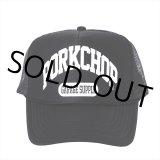 PORKCHOP/COLLEGE CAP(ブラック)[メッシュキャップ-21春夏]