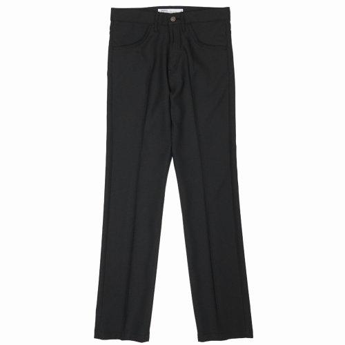 """他の写真1: DAIRIKU/""""Slim"""" Flasher Pressed Pants(ブラック)[""""スリム""""スタプレパンツ-21春夏]"""