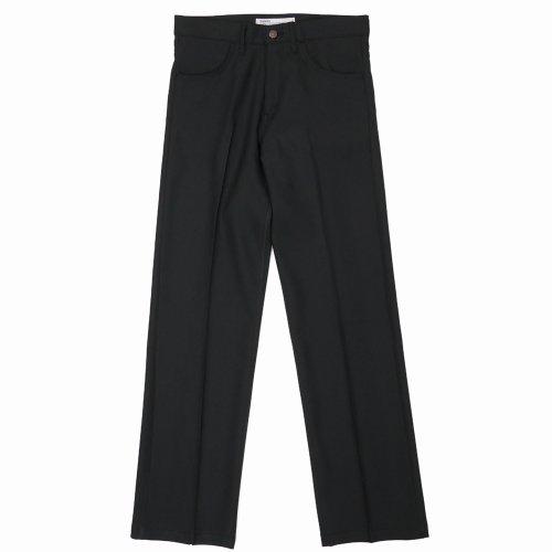 """他の写真1: DAIRIKU/""""Straight"""" Flasher Pressed Pants(ブラック)[""""ストレート""""スタプレパンツ-21春夏]"""
