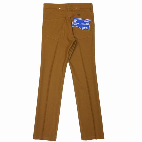 """他の写真2: DAIRIKU/""""Slim"""" Flasher Pressed Pants(ソイル)[""""スリム""""スタプレパンツ-21春夏]"""