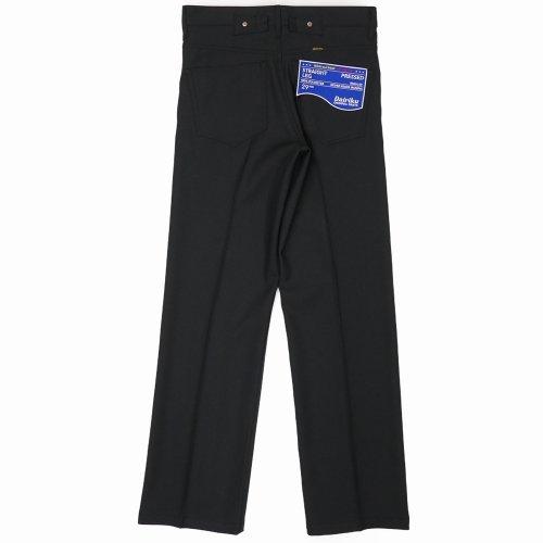 """他の写真2: DAIRIKU/""""Straight"""" Flasher Pressed Pants(ブラック)[""""ストレート""""スタプレパンツ-21春夏]"""