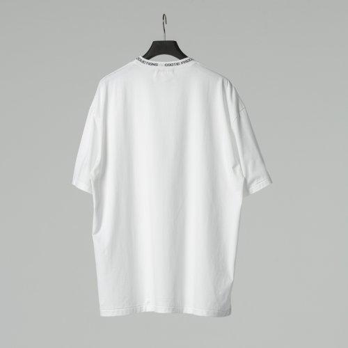 他の写真2: COOTIE/Supima Cotton Jacquard Neck S/S Tee(ホワイト)[ジャガードネックT-21春夏]