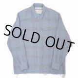 DAIRIKU/Triple Gauze Check Western Shirt(スカイ)[トリプルガーゼチェックウエスタンシャツ-21春夏]