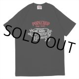 PORKCHOP/CHOPPERS WELCOME TEE(ブラック)[プリントT-21春夏]