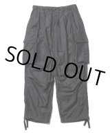 COOTIE/Back Satin Error Fit Cargo Easy Pants(ブラック)[エラーフィットカーゴイージーパンツ-21春夏]