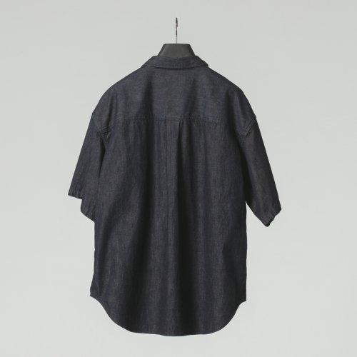 他の写真2: COOTIE/Error Fit Denim Work S/S Shirt(インディゴ)[エラーフィットデニムワークシャツ-21春夏]