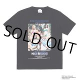 WACKO MARIA/NICE DREAMS / WASHED HEAVY WEIGHT CREW NECK T-SHIRT(TYPE-1)(ブラック)[プリントT-21春夏]