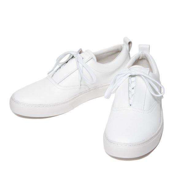 画像1: COOTIE/Raza Lace Up Shoes(ホワイト-カーフ)[Razaレースアップシューズ-21春夏]