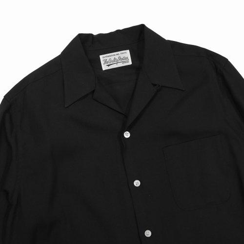 他の写真3: WACKO MARIA/50'S SHIRT S/S(TYPE-1)(ブラック)[50'Sシャツ-21春夏]